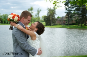 This was snapped between the ceremony and reception.  Could they be any cuter?!