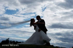 Loving the clouds and the veil in this one!