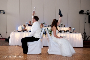 The Shoe Game...if you haven't seen this at a wedding yet, you are missing out!